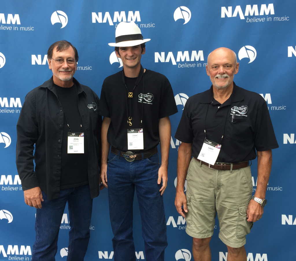 John - Isaac - Gary at Summer NAMM 2017